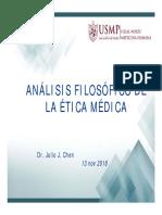 Análisis Filosófico de La Ética Médica