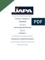 Francisco J. Rodriguez C.-actividad 1-ESTADISTICA1