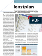 Windows XP Dienstplan