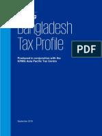 Bangladesh Tax Rate by KPMG 2018