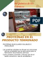 Composición Quimica de productos cárnicos