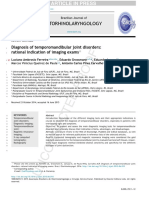 Diagnosis of Temporomandibular Joint Disorder_Rational Indication of Imaging Exams