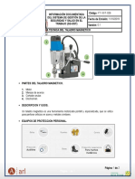 Ficha Tecnica Taladro Magnetico