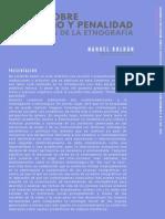 Notas sobre feminismo y penalidad a través de la etnografía