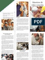 Tríptico los ancianos en la mirada del Papa Francisco