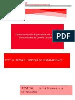 TEST DE LIMPIEZA