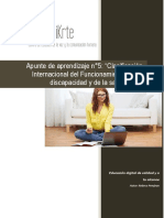 Clasificación Del Funcionamiento, De La Discacidad y de La Salud (CIF) (Conflicto de Codificación Unicode)