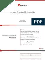 Limites Funcion Multivariable INACAP