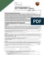 GUÍA DE REFUERZO N°11