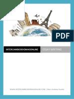CAE essay topics