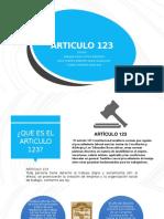 Articulo 123 (1)