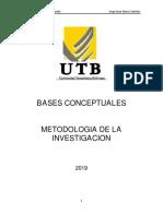 Bases Conceptuales.