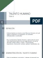 Talento humano - contratación