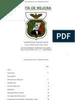 Ruta de Mejora Centenario 2018-2019 Rub.