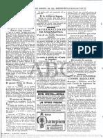 Noticia de 1929 sobre Primo de Rivera (Hemeroteca ABC)