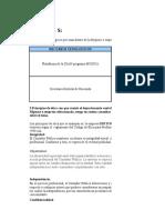 """Informe """"Normas, Políticas y Principios de La Información"""""""