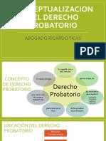 conceptualizacion derecho probatorio