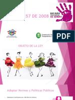Exposición Ley 1257