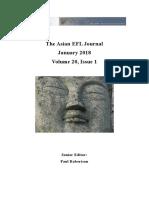 AEFLJ Quarterly Volume 20 Issue 1 2018