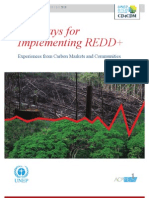 Pathways to Implementing REDD+