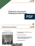 (E) Calibration Component Pumping Unit Close Circuit - En