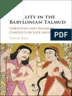 Yishai Kiel - Sexuality in the Babylonian Talmud_ Christian and Sasanian Contexts in Late Antiquity-Cambridge University Press (2016)