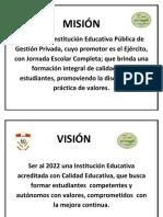 Modelo Misión y Visión