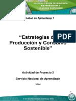 Producción y consumo sostenible