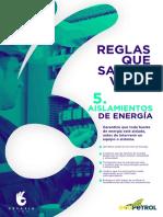 HSE Desafio Cero_Regla 5_Afiche