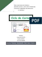 Definición Del Ciclo Carnot