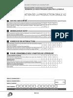 Grille Evaluation Production Orale Delf a2 Tp 2