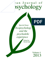 Ecopsychology and the Psychedelic Experience (2013)