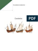 Tres carabelas de cristobal colon.docx