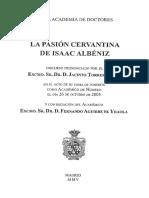 Pasión cervantina de Isaac Albéniz