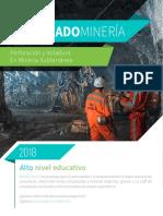 D Perforacion y Voladura en Mineria Subterranea (1) 1