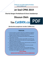 Soal CPNS 2019 Latihan HOTS Dan Pembahasan Jawabannya