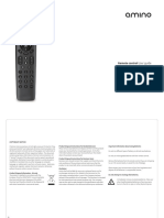 Amino Remote Control User Guide v4 FINAL