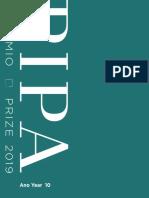 Prêmio Pipa - Catálogo 2019