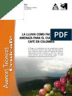 LA LLUVIA COMO FACTOR DE AMENAZA PARA EL CULTIVO DEL CAFÉ EN COLOMBIA