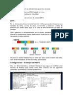 Reporte de Arranque HDFS y Yarn