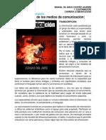 Antología de Los Medios de Comunicación