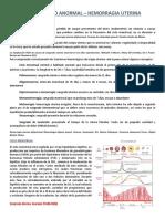 08 - G&O - Sangrado Uterino Anormal (Seminario).docx