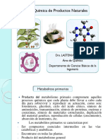 Productos Naturales Capitulo I