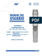 Manual Linea-2 16 Bomba Sumergible 4, 6, 8 y 10 Pulgadas (03-2015)