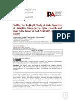 Netflix Strategies to Drive Growth