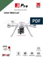 MJX Bugs 3 Pro User Manual
