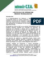 Protoclo Medios Tecnologicos