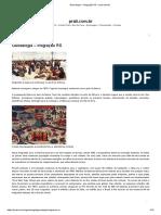 BARRACÕES de MADEIRA - Genealogia – Imigração RS – Prati.com.Br 1