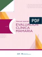 Manual Eva Luac i on Clinic Am a Maria