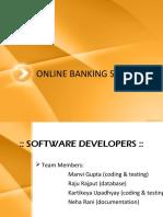 e-Banking management system